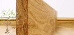 rodapié de madera