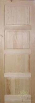 puerta interior madera maciza 044 santander