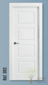 Puertas interior lacadas blancas fabricaci n y venta for Puertas blancas economicas