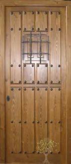 puerta rustica 009 iroko