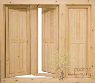 ventana madera perfil europeo 066