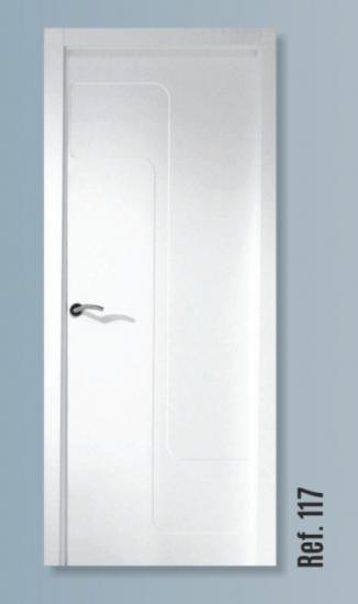117 puertas de la marina for Puertas semi macizas blancas